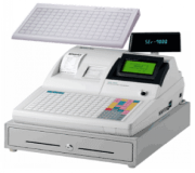 Cash Register with Extension Keyboard